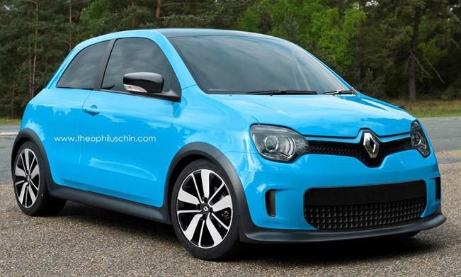 Smart Car Engine >> 2014 Renault Twingo [render]