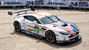 Aston Martin Unveils Winning Le Mans Gulf Livery