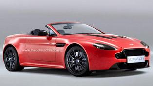 Aston Martin V12 Vantage S Roadster [render]