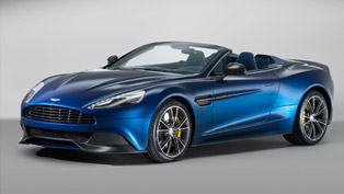 The Ultimate Convertible Super GT: Aston Martin Vanquish Volante