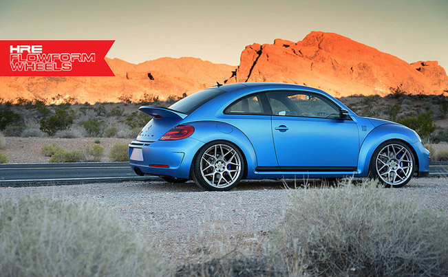 HRE Performance Enhances Volkswagen Beetle Turbo