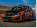 Lexus IS F CCS-R - Race in Pikes Peak International Hill Climb