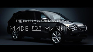2014 Acura MDX Is Made For Mankind [VIDEO]