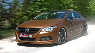 NRW Volkswagen Passat CC With Enhanced Power Output