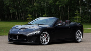 Novitec Maserati GranCabrio MC Becomes Supercharged