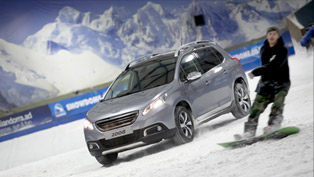 Peugeot 2008 Crossover climbs the Tamworth Snowdome [VIDEO]