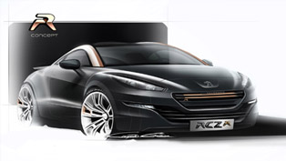 Peugeot RCZ R Concept Makes International Debut At Goodwood