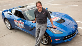 reuss paced indy dual in detroit in 2014 corvette stingray [video]
