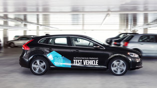 volvo autonomous parking concept [video]