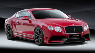 vorsteiner bentley continental gt - could only be described as art