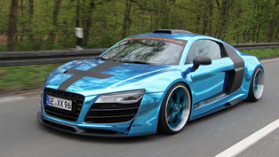Star On Wheels: XXX-Performance Audi R8 5.2 FSI quattro