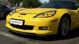 chevrolet corvette z06 vs: 911 turbo, camaro zl1, lotus esprit and shelby mustang gt500