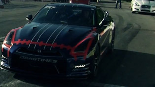 Nissan GT-R AMS Alpha 12+: 1 mile Top Speed - 382 km/h