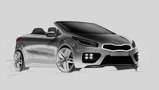 Kia Pro_cee'd GT Cabrio Drawing Takes Over The Web