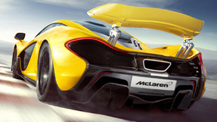mclaren p1 in the us - 375 units