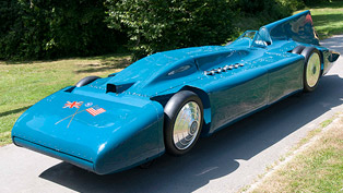 1935 Blue Bird V - Land Speed Record 484.5 km/h