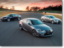 Lexus Launches 2014 IS 250, 350 And 300h Sedans