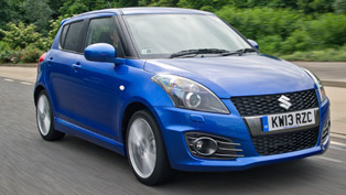 2013 Suzuki Swift Sport 5-door - More Practicality