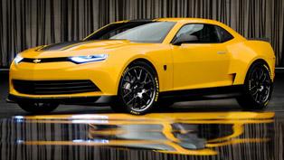 2014 Chevrolet Camaro Bumblebee Concept - Transformers 4