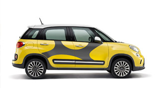 2014 Fiat 500L Trekking Gets Moparized
