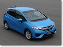 2014 Honda Fit Hybrid - 2.7 liters / 100