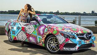 2014 Mercedes-Benz E-Class Cabriolet by Mara Hoffman