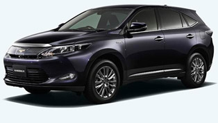 2014 Toyota Harrier JDM