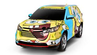 Toyota Releases SpongeBob SquarePants Inspired 2014 Highlander