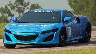 Acura NSX Prototype at Mid-Ohio Raceway