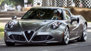 alfa romeo 4c at 2013 goodwood festival of speed