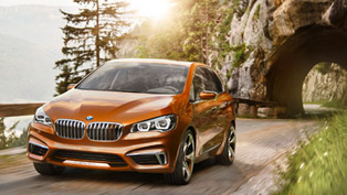 BMW Concept Active Tourer Outdoor Revealed