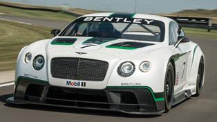 Bentley Continental GT3 Race Car - Full Specs