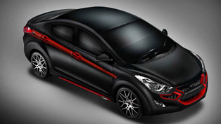 DC Design Hyundai Elantra Black & Red