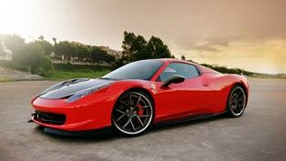 dmc transforms ferrari 458 italia spider
