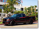 Ford F-150 Crimefighter Bat Truck Customized By Galpin Auto Sports