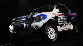 Ford Ranger at the 2014 Dakar Rally