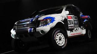 Ford Ranger at the 2014 Dakar Rally
