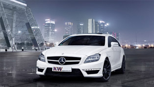 kw enhances mercedes-benz cls 63 amg shooting brake