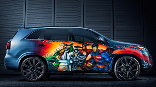 Kia Reveals Unique Justice League Car At Comic-Con
