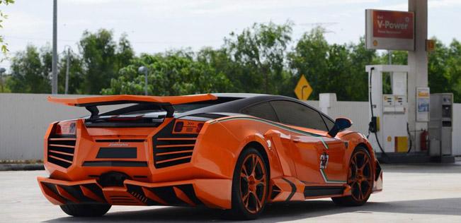 Ats Lamborghini Gallardo Galaxy Warrior
