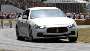 Maserati Ghibli Makes UK Debut At Goodwood Festival Of Speed