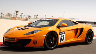 mclaren 12c gt sprint - track package