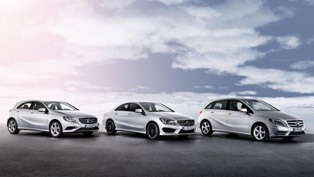 A, B and CLA-Class with Improved Engines