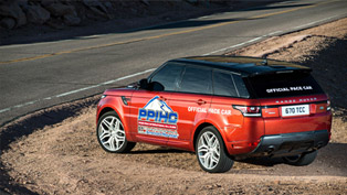 2014 Range Rover Sport - The Official Pace Car At PPIHC [VIDEO]
