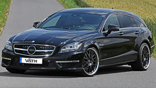 VATH Mercedes-Benz CLS 63 AMG Shooting Brake - 846HP and 1,180Nm