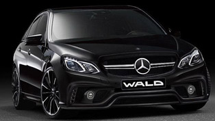 Wald International 2014 Mercedes-Benz E-Class and 2014 Toyota Crown