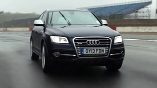 Audi SQ5 TDI at Silverstone Race Track [video]