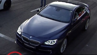 BMW Alpina B6 vs Lamborghini LP-560-4, BMW M6 G-Power, BMW X6 M and GT-R 1200