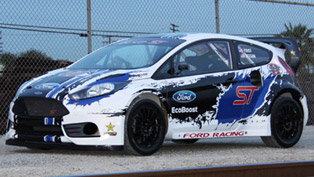 Ford Fiesta ST Race Car - Detroit Rallycross