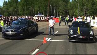 Porsche GT2 9ff vs Nissan GT-R AMS Alpha 12+